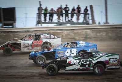 South Buxton Raceway, Merlin, ON, July 25, 2015