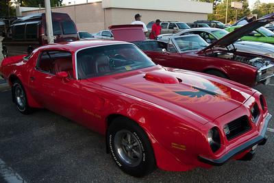Parking Lot Car Show, Hampton Virginia