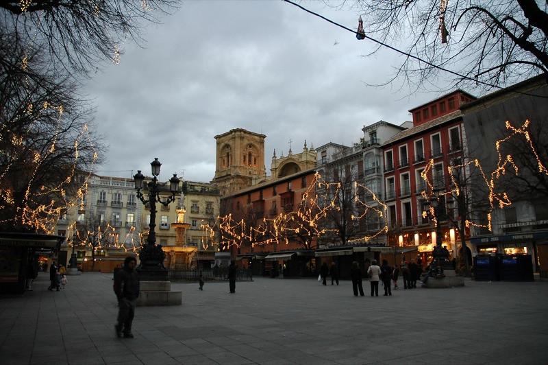 Christmas Lights - Granada, Spain