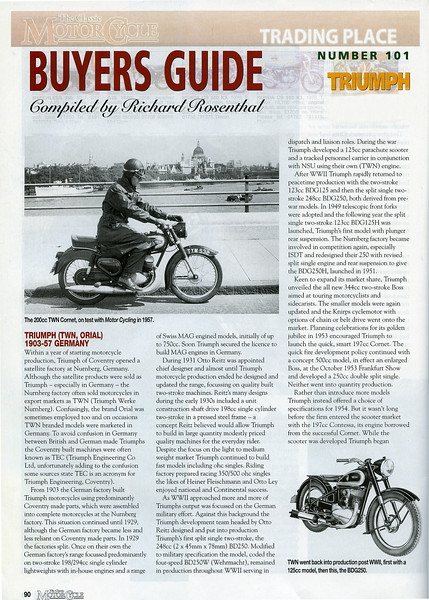TWN Motorcycles - History