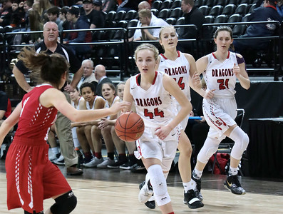 US Girls Basketball vs Davenport at State 3-2-19