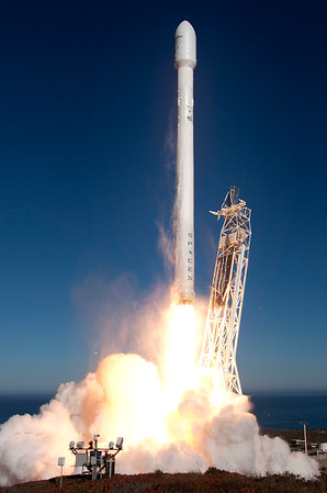 SpaceX Falcon 9 v1.1 CASSIOPE Sept. 29, 2013
