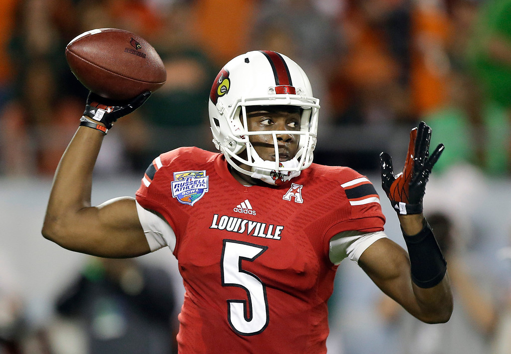 . <b>6. TEDDY BRIDGEWATER </b> <p>Could be a serviceable quarterback for Vikings, if he ever figures out that whole �throwing� thing. <p>    (AP Photo/John Raoux, File)