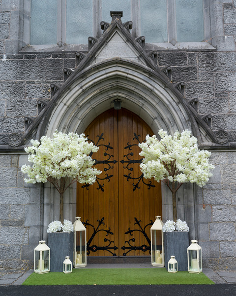 Entranceway to Trinitarian Abbey, Adare, County Limerick, Republic of Ireland