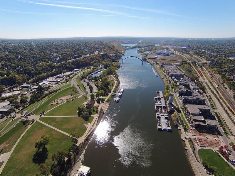 St. Paul MN Mississippi River
