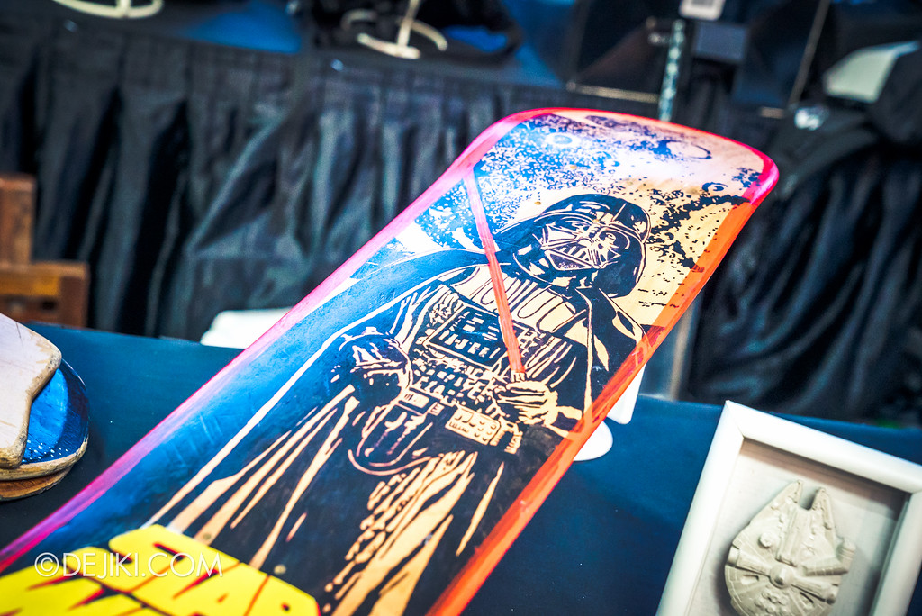 Gardens by the Bay - Star Wars Day 2017 - Fan Art Exhibition - Darth Vader skateboard