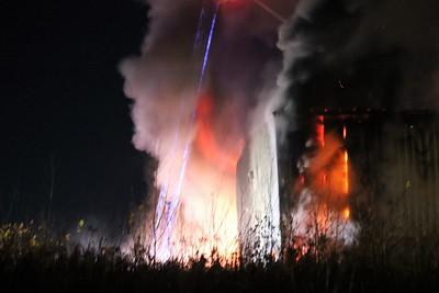 MASSENA NY...  Industrial Park FIRE 11/3/2017
