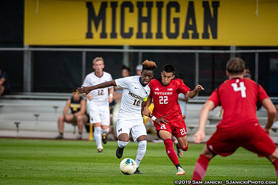 9-21-19 - Best of Michigan Men's Soccer Vs Rutgers