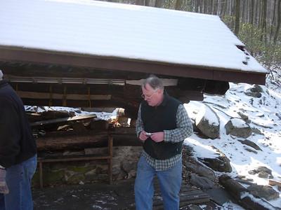 Rocky Run Shelter Repairs 2/24/08
