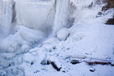 Youth;Ice;Waterfall