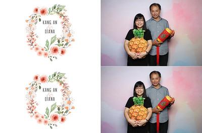 Kang An & Diana 18 Jan 2020 Photobooth album