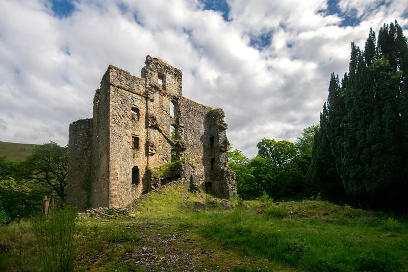 Invergarry Castle Ruins