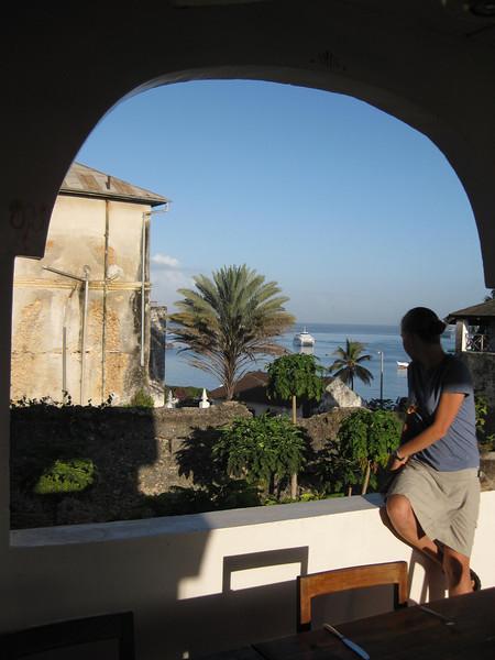 View from Hotel Kaponda