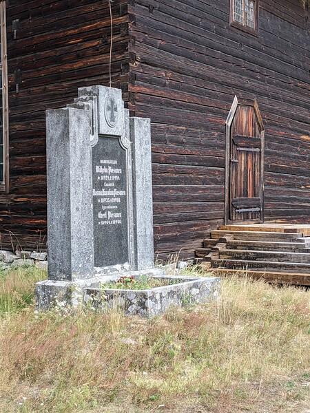 Église et cimetière de Petäjävesi