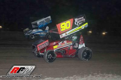 Utica-Rome Speedway - 10/3/17 - Dylan Friebel