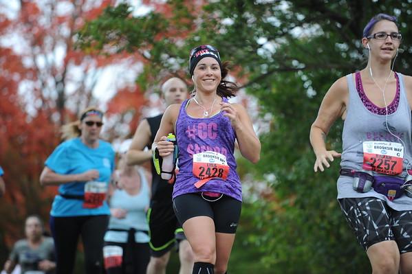 2015 HealthPlus Brooksie Way Half Marathon - September 27, 2015