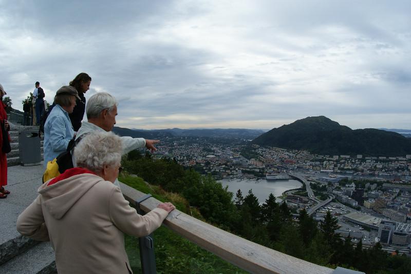 Overlooking Bergen.