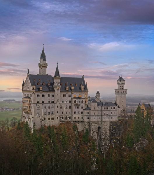Neuschwanstein Castle Close-up