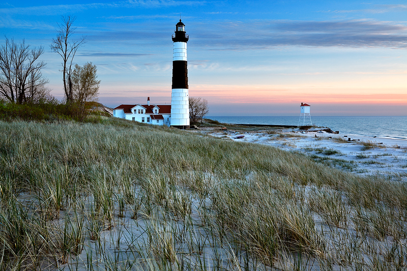 Grand Light - Big Sable Point Lighthouse (Ludington State Park - Ludington, MI)