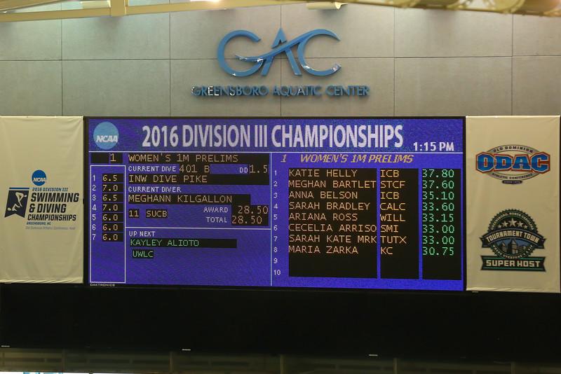 16 03 17 NCAA Div III Diving National Championship Meg