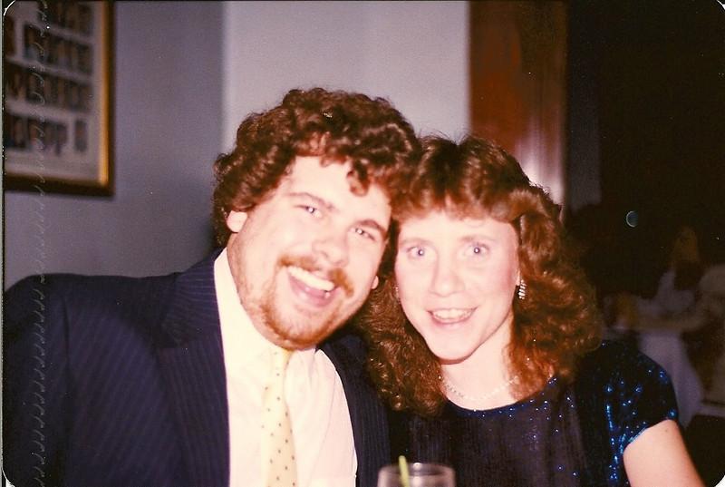 Fauster & Patti at the Lambda Chi Spring Formal - May '88