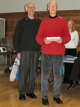 2005 PIH Awards Presentations - Maurice Tarrant presents the Maurice Tarrant Veteran of the Year Award to Jim Sargent