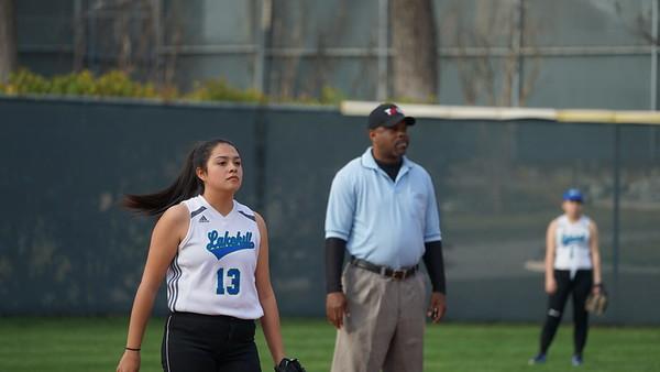 Varsity Softball, Spring 2018