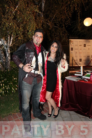 Inaugural Halloween House Party Hosted by Mario Lopez