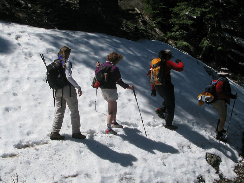 traverse in snow