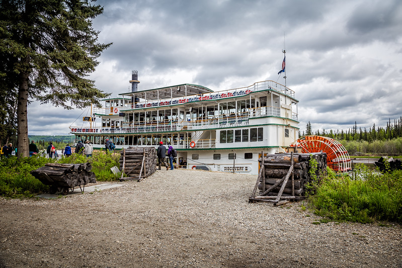 Things to do in Fairbanks Alaska-  Riverboat Discovery