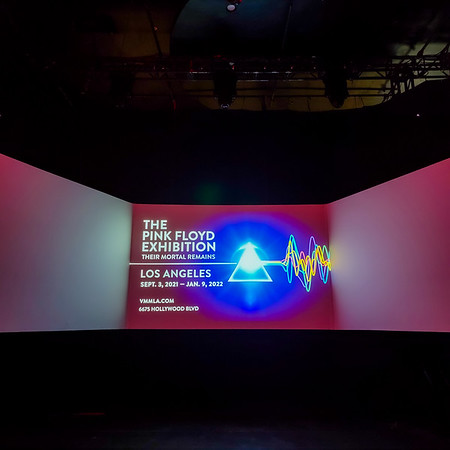 Pink Floyd Exhibit September 2021