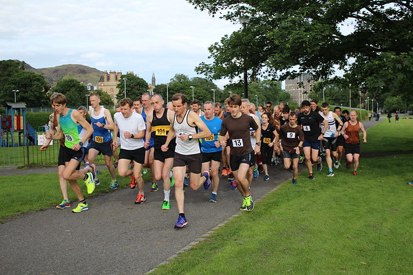 Sri Chinmoy 5k, Wednesday 5 July 2017, The Meadows, Edinburgh