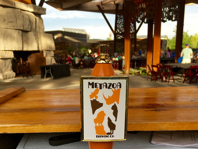 Metazoa beer tap at the Indianapolis Zoo