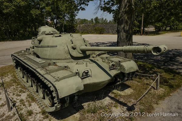 VFW Post 446 - Muskegon, MI - M48A1 & 76mm gun