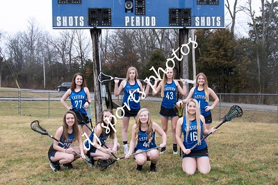 2017-2018 Lacrosse Team and Individuals