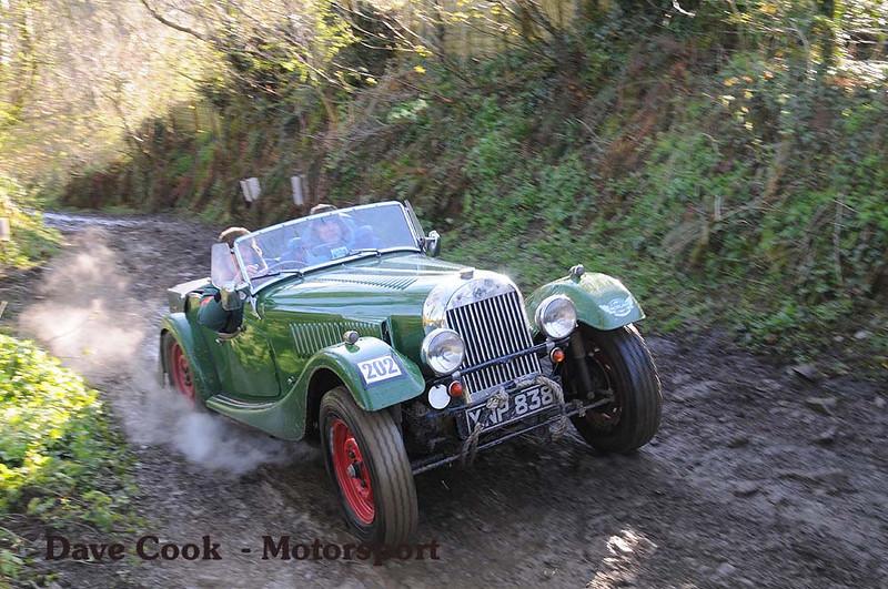 Chris Adeney's Morgan Plus 4 at Sutcombe
