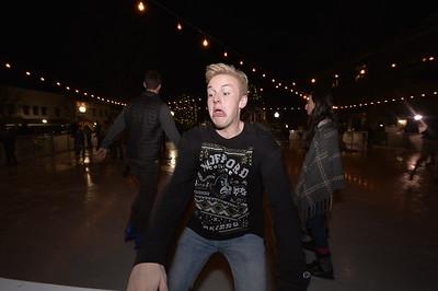 Ice Skating Morgan Square
