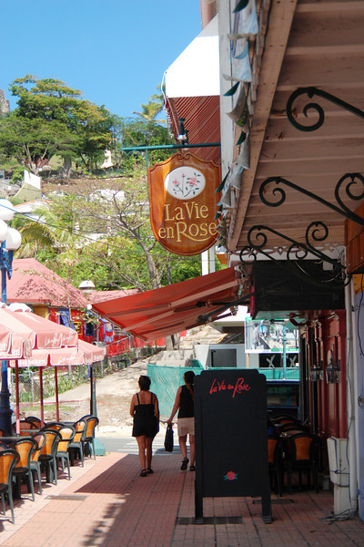 Stores on the French side of St. Maarten