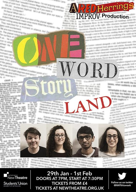 One Word Story Land poster
