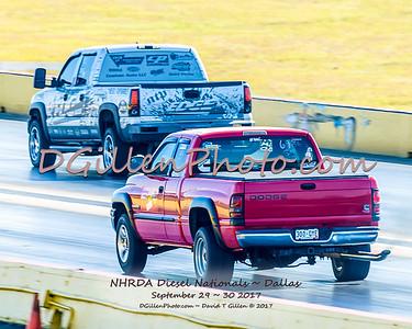Saturday Diesel Drags