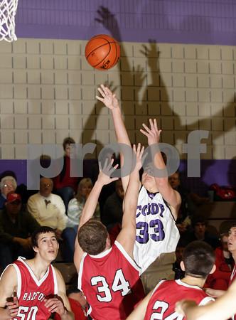 2011 Bradford Boys JV Basketball @ Coudersport