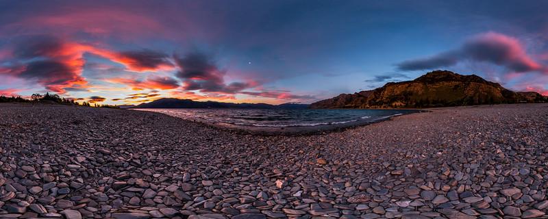 Twilight Evening at Lake Hawea