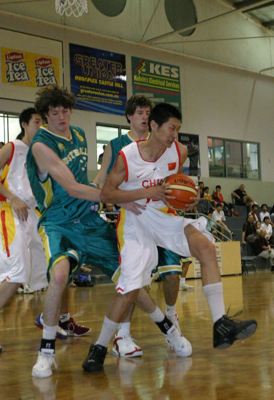 Youth Olympics-Syd 2005 Australia Vs China Men