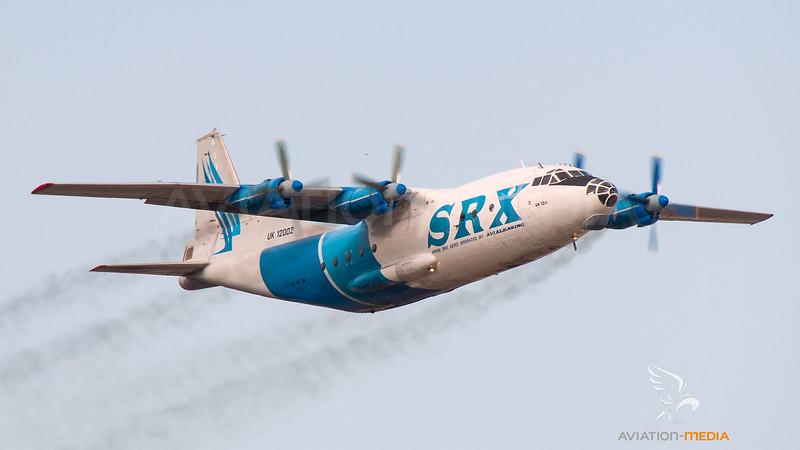 SRX Cargo Antonov AN12-BP UK-12002