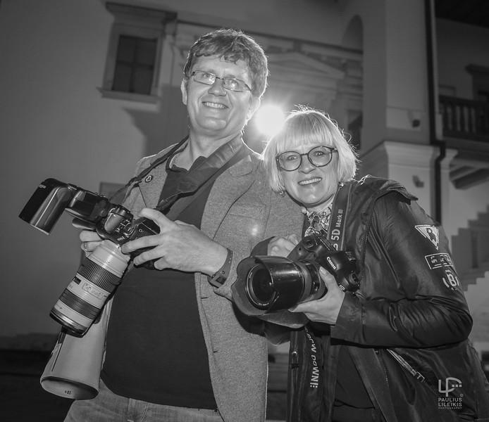 Fototendemas - Greta Skaraitienė ir Vygantas Skaraitis..