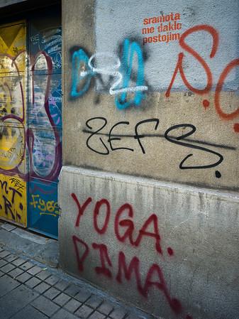 GRAFFITI on the Streets of BELGRADE