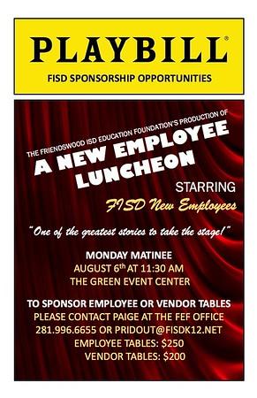 New Employee Luncheon