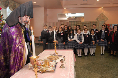 Holy Martyrs Armenian Day School Home Blessing, 2011