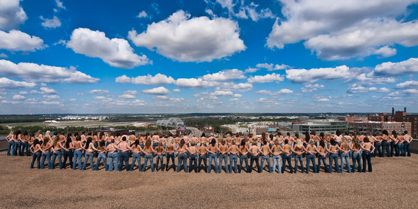 Topless Rooftop Shoot: September 25, 2011