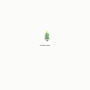 Portrait - Christmas lights